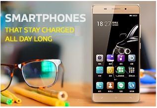High battery backup life smartphones Branded