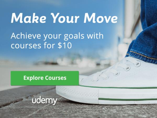 Udemy 2017 April $10 promo code