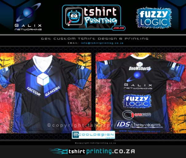 custom shirts, custom gamer shirt, lan shirt, custom sports wear