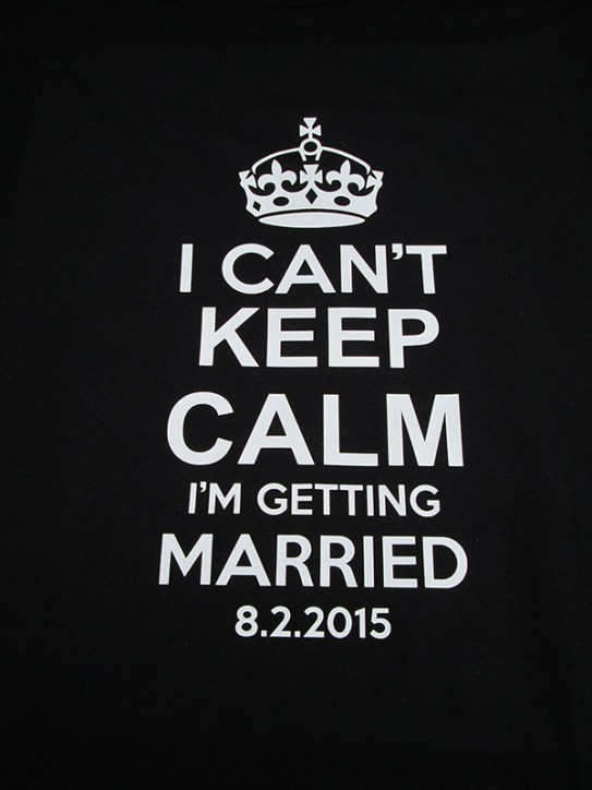 Getting married tshirt idea tshirt printing business for How to get into the t shirt printing business