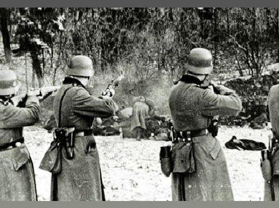 Μνημόσυνο για τα θύματα των Γερμανών στη Μακρυνεία
