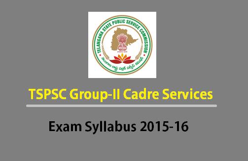 TSPSC Group2 Exam syllabus Portion 2015-16