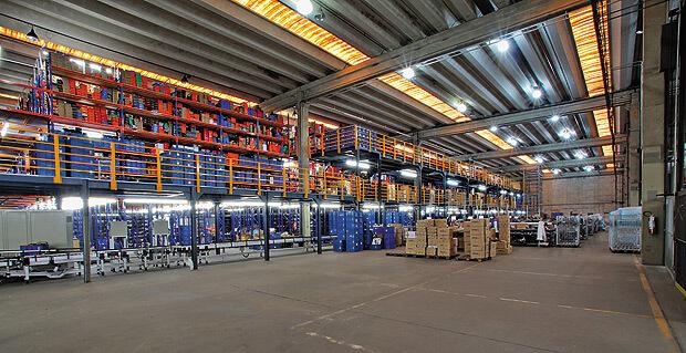 Logistica - Centros de Distribuição com conexões Ranhuradas