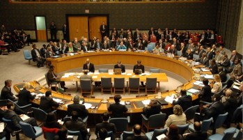 UNSC unable to sign resolution on Syria war