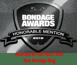 BondageAwardsHonorableMention2 BLOG
