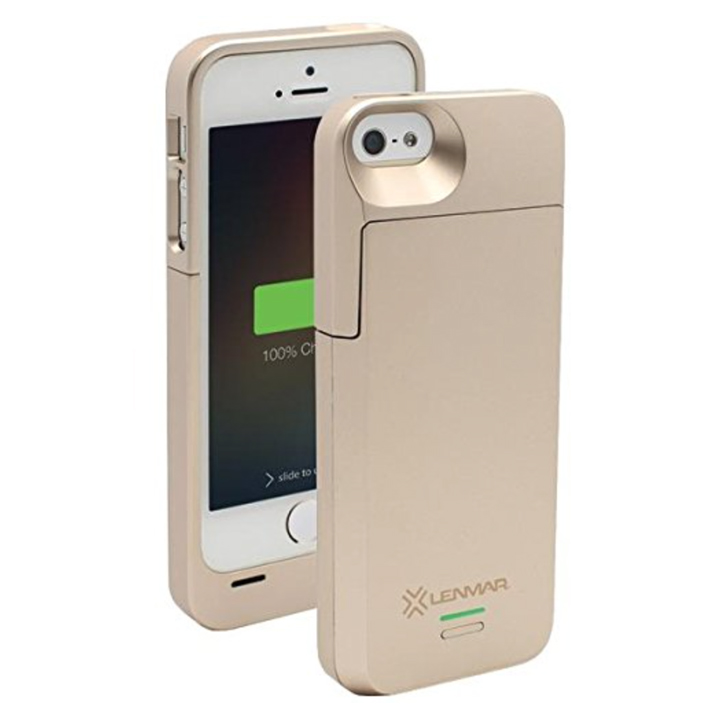 The Lenmar Meridian iPhone charging case TueNight.com