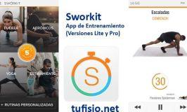 Sworkit Pro: App de ejercicio para entrenar a tu medida