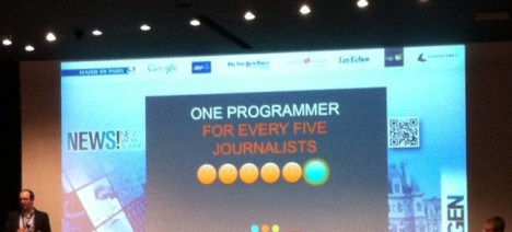 Intervention du Guardian au GEN News Summit 2012