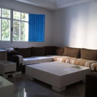 For rent in sidi bou said beautiful furnished apartment