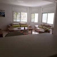 For rent at Lake 2 of Tunis superb furnished apartment with terrace