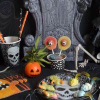 Brochettes de bonbons Halloween et diplôme de sorcier à télécharger !