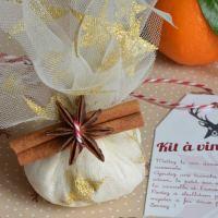 Kit à vin chaud {cadeau gourmand + étiquettes à télécharger}