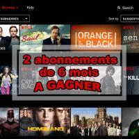 A la découverte de Netflix {2 abonnements de 6 mois à gagner}