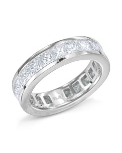 Small Of Diamond Eternity Band