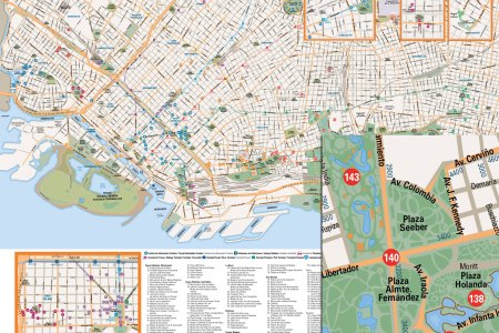 maps update #33712355 buenos aires tourist map buenos
