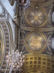 The paintings and mosaics in St. Paul's Cathedral are some of the most beautiful we have ever seen. They contain hundreds of thousands of bits of glass and stone.