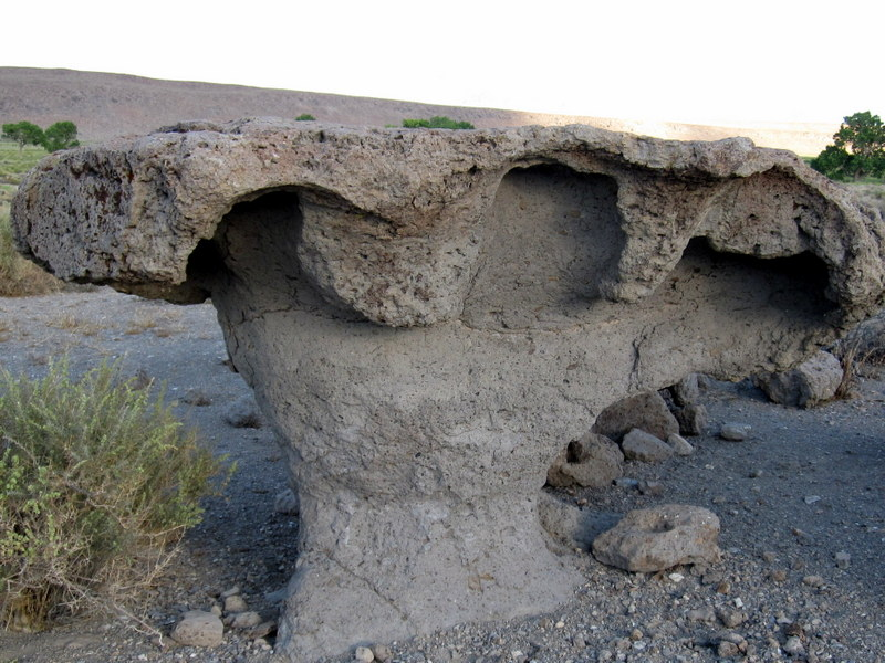 volcanic tablelands rock form