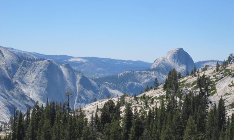Yosemite via Tioga Pass