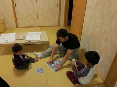 Playing games with the cutest couchsurfing kids ever