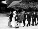 Wedding procession at Meiji-jingu, Tokyo