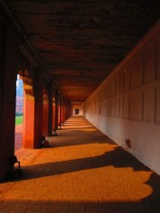 Shadows at The Red Fort, Agra