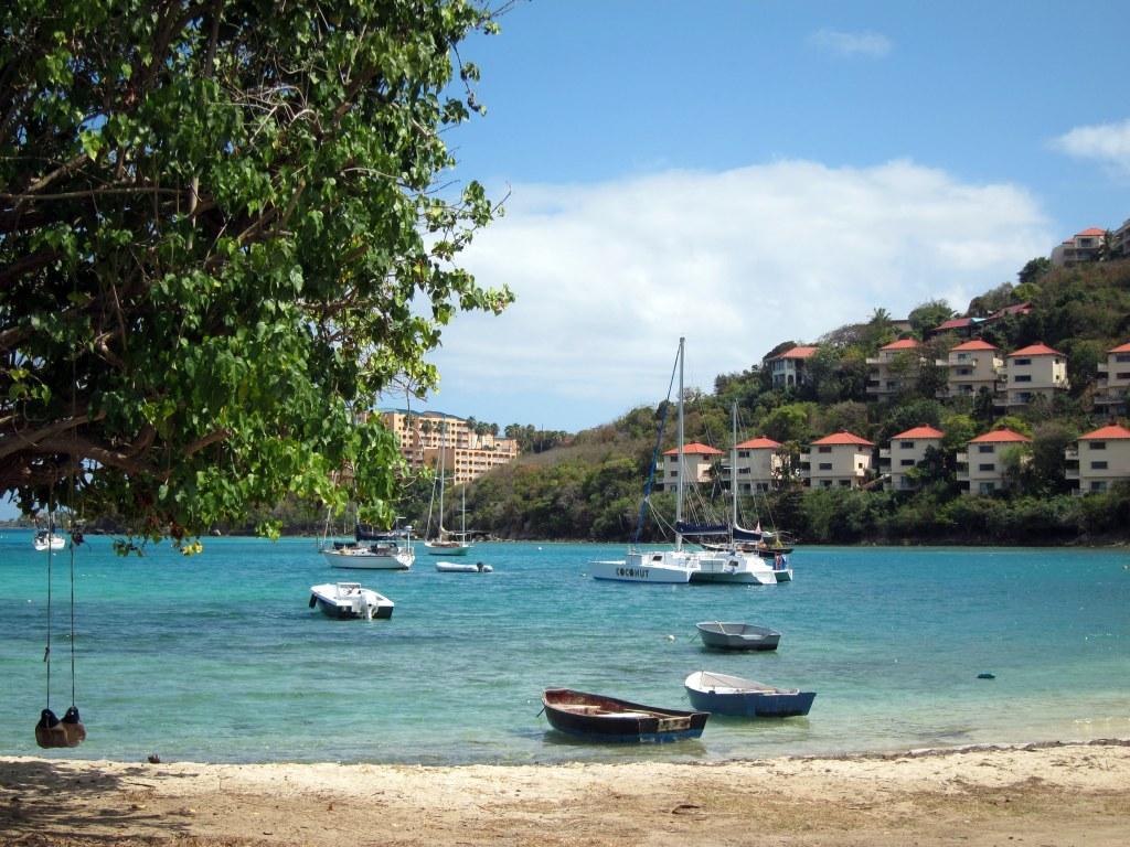 Bay near Coki Beach