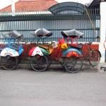 Becaks, Yogyakarta