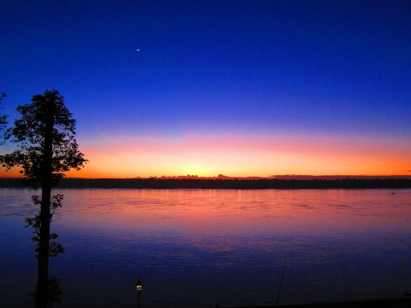 Kratie Sunset