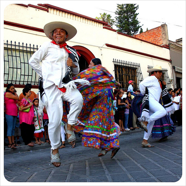 We loved the traditional dances during the Guelaguetza festival in Oaxaca, Mexico, that we were lucky enough to witness a couple of years ago