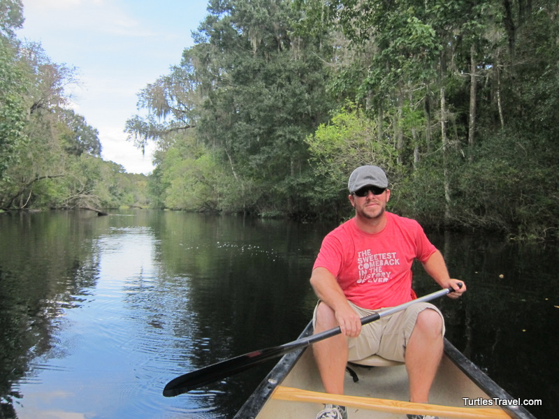 Donny on the Hillsborough River