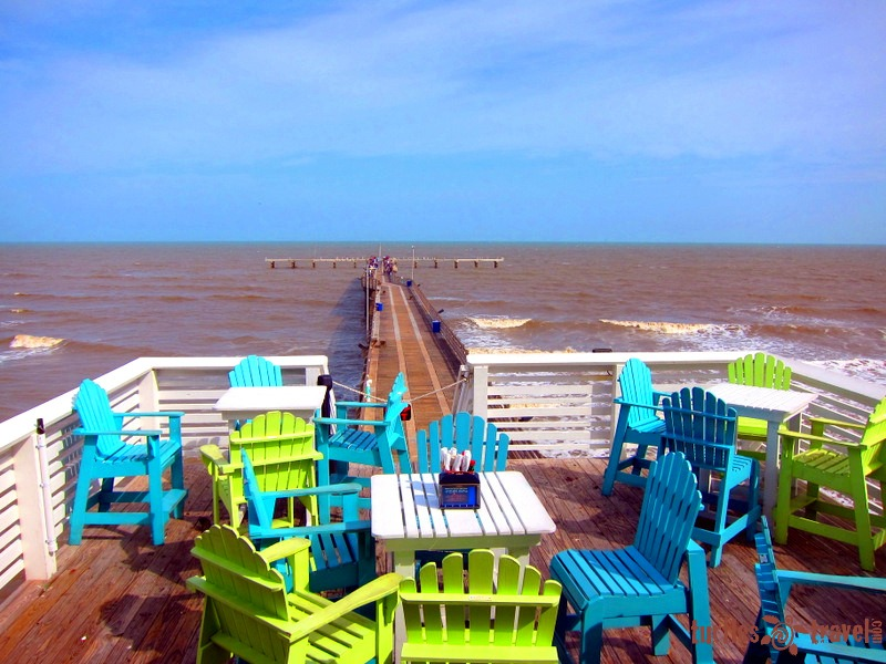 July: Galveston, Texas