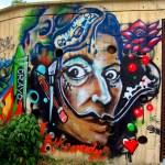 Graffiti of Dali