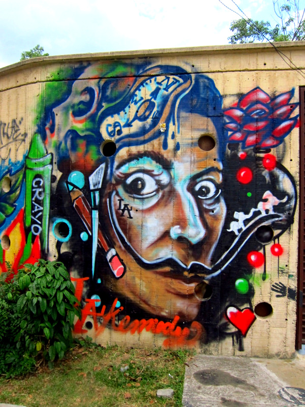 Graffiti of Dali