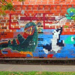 Duck Hunt Graffiti