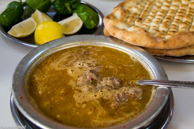 Beyran served with warm pide