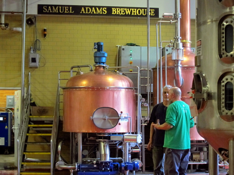 Brewmasters Bob Cannon and Dean Gianocostas