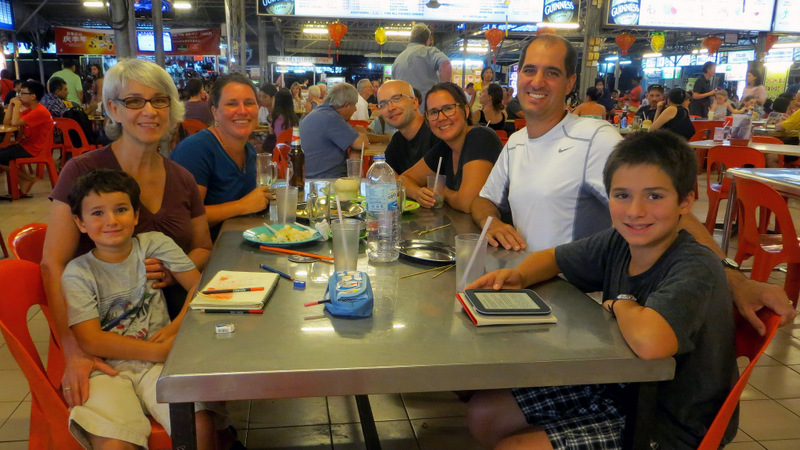 We enjoyed our first hawker stall experience in Penang, Malaysia, with the family from Taking the Big Break http://takingthebigbreak.com/