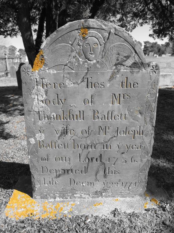 Cape Cod gravestone