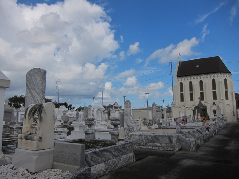 St Roch's Cemetery in New Orleans