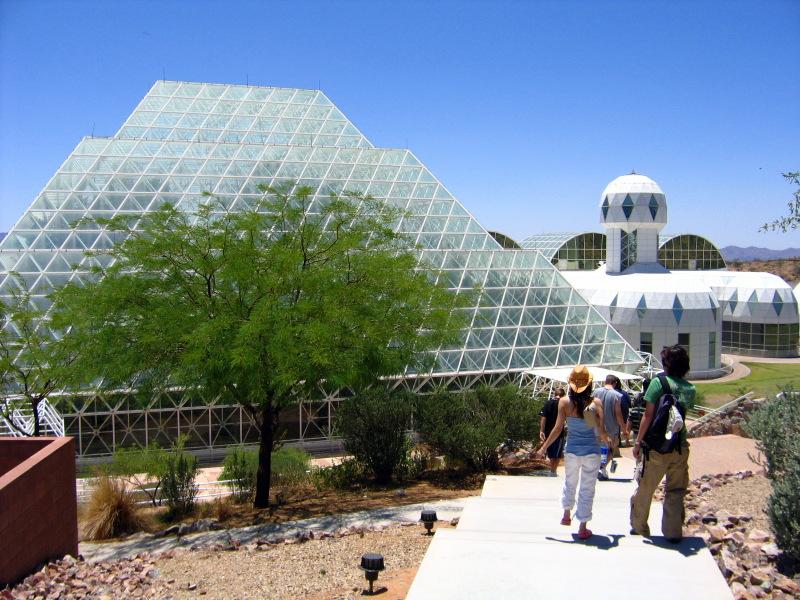 Walkway to Biosphere 2