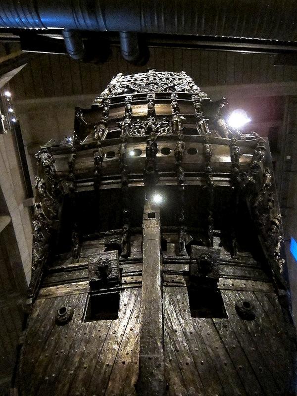 Swedish warship Vasa Stern