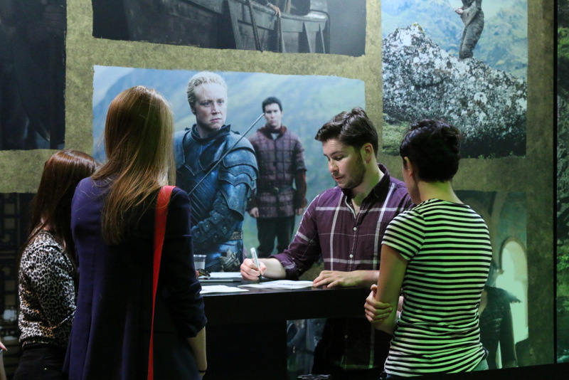 Daniel Portman at the Game of Thrones Exhibition in Amsterdam
