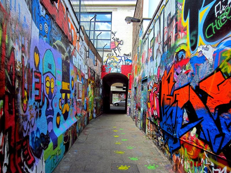 Art Alley, Ghent, Belgium