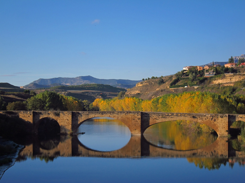 Bridge over the Ebro, San Vicente de la Sonsierra