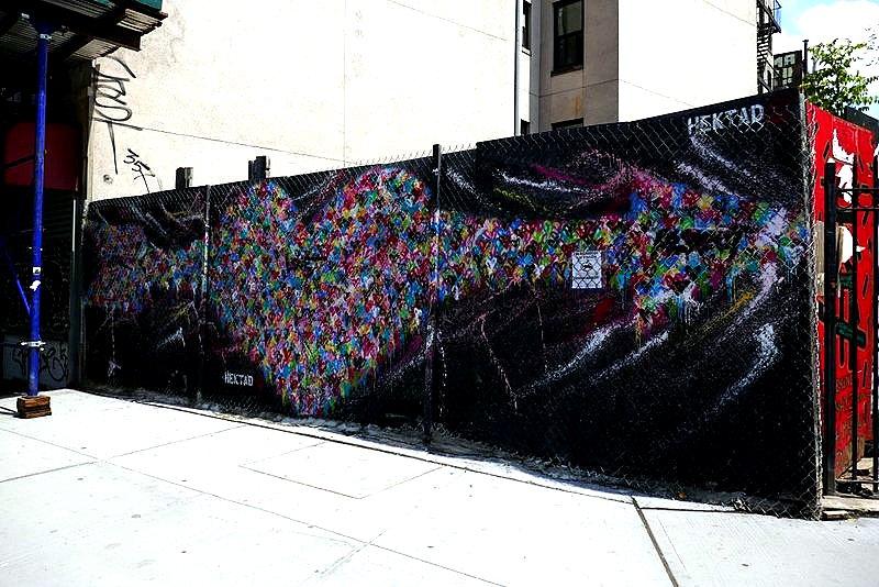 Artist: Hektad 1st Street Green Cultural Park (E Houston)
