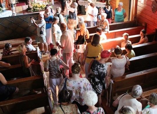 Żyjące kościoły wokół Puszczy Zielonka