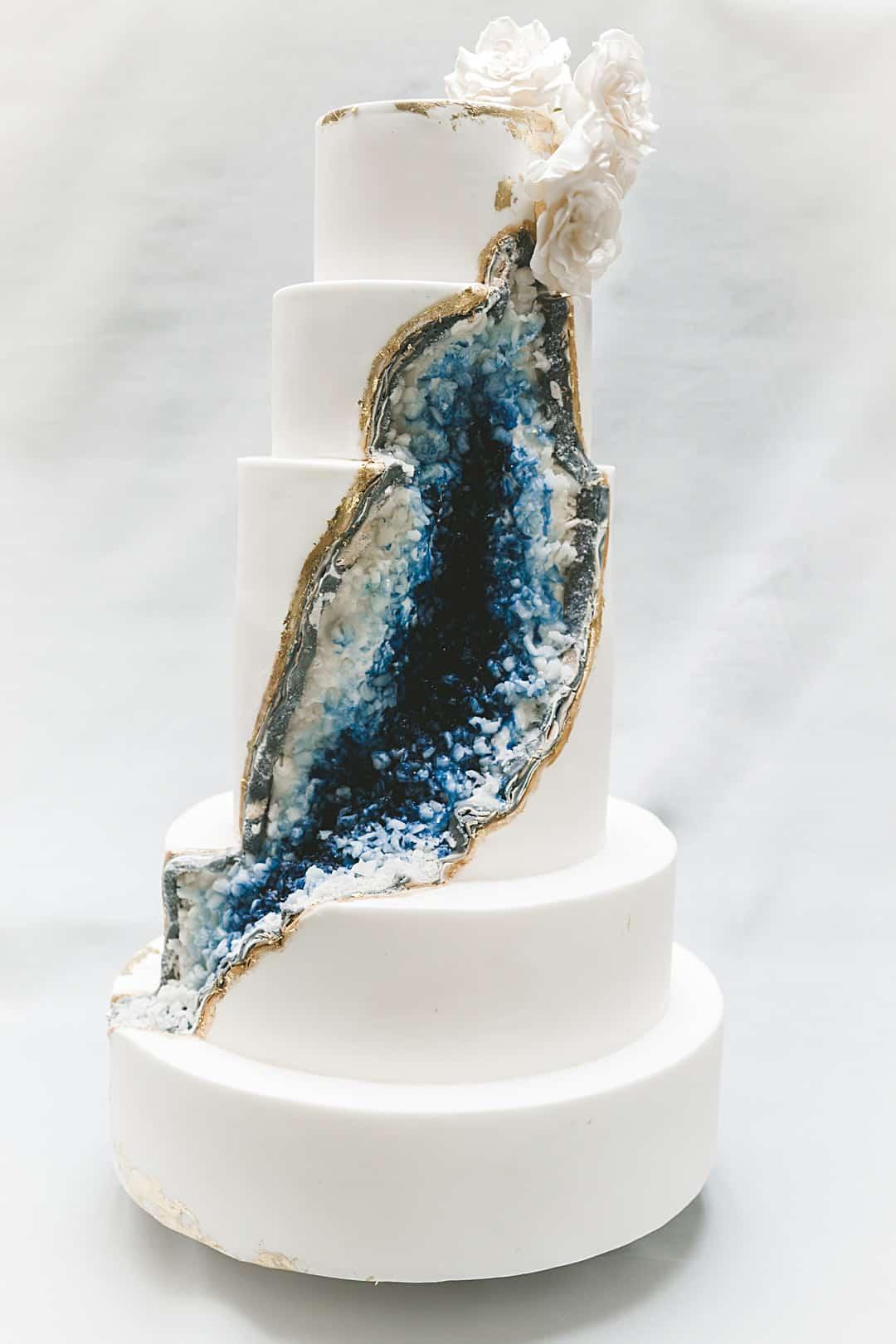 Fullsize Of Geode Wedding Cake