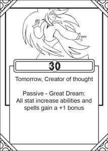 Tomorrow Card Border