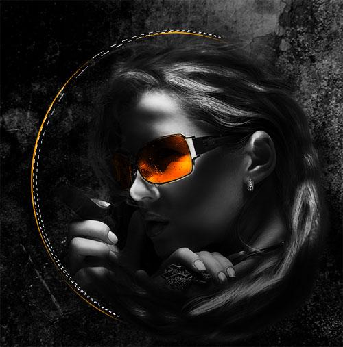Tuto pour cr er un poster sombre surr el avec photoshop - Faire un poster avec plusieurs photos ...
