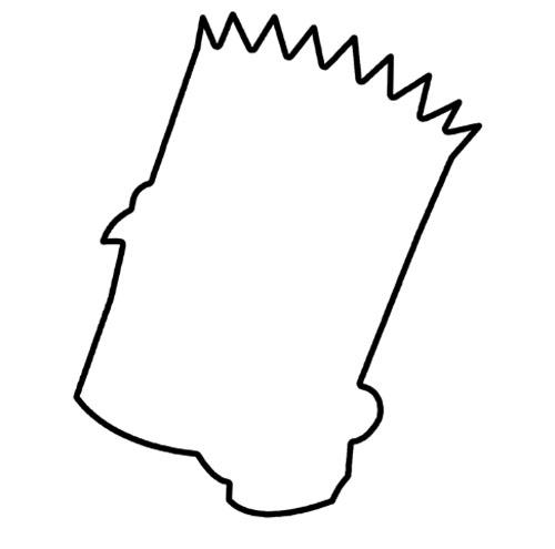 Dessiner Bart Simpson avec l'outil plume de Photoshop